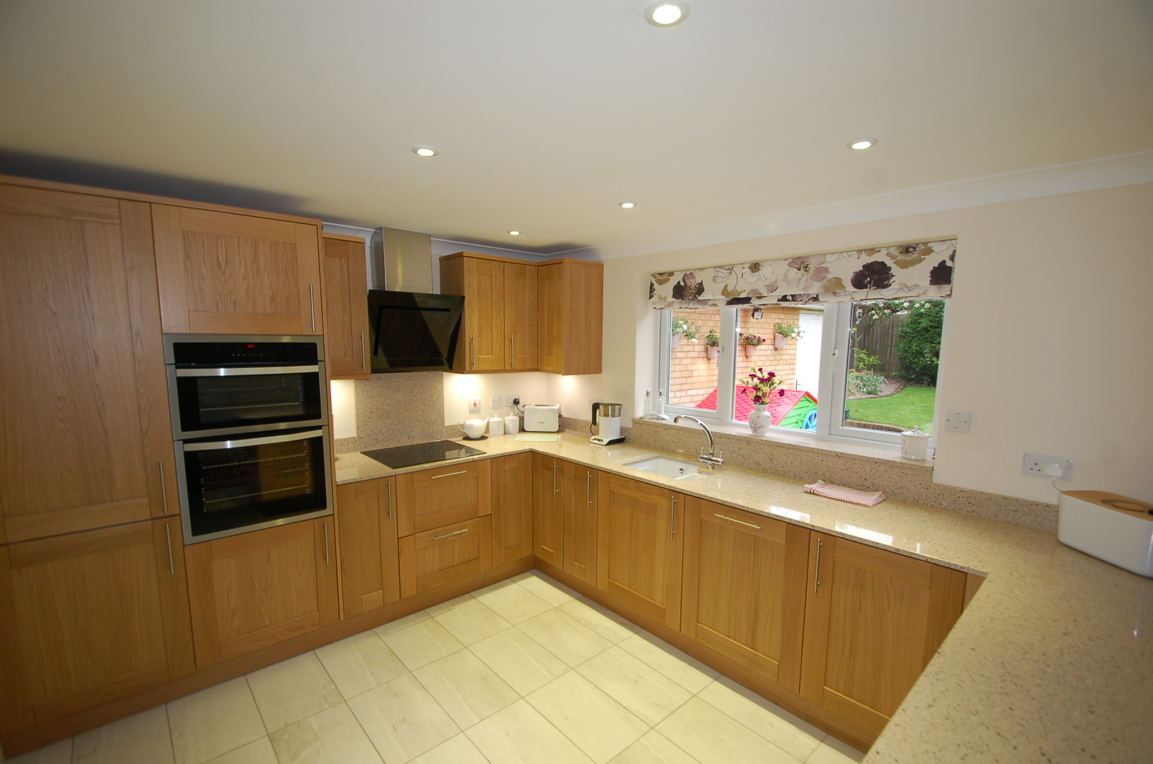 Changing the colour of a kitchen