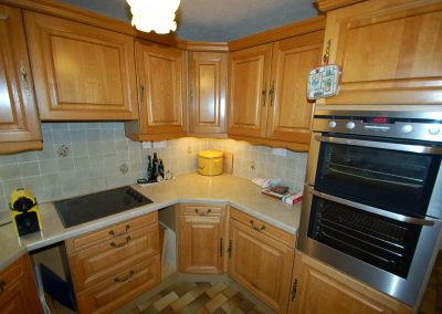 When a renovation can be as good as a new kitchen, before picture