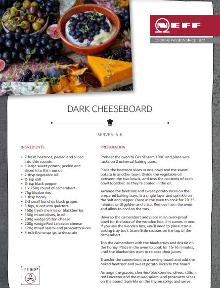 Dark Cheese Board